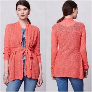 Anthropologie Knitted & Knotted Cosette Cardigan